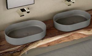 Shui Comfort Sit-on Oval Sink