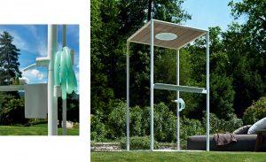 gazebo outdoor shower