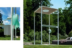 gazebo outdoor shower